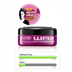 Gatsby Styling Wax - Ultimate & Shaggy